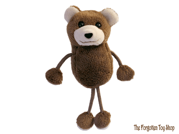 Bear Finger Puppet The Puppet Company - The Forgotten Toy Shop Limited