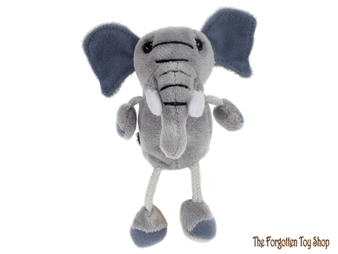 Elephant Finger Puppet The Puppet Company - The Forgotten Toy Shop Limited