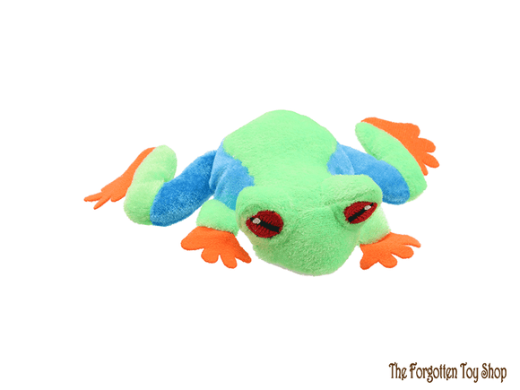Frog (Tree) Finger Puppet The Puppet Company - The Forgotten Toy Shop Limited
