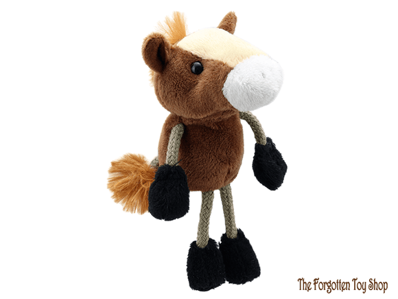 Horse Finger Puppet The Puppet Company - The Forgotten Toy Shop Limited