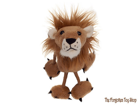 Lion Finger Puppet The Puppet Company - The Forgotten Toy Shop Limited
