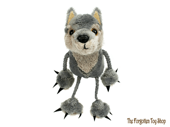 Wolf Finger Puppet The Puppet Company - The Forgotten Toy Shop Limited