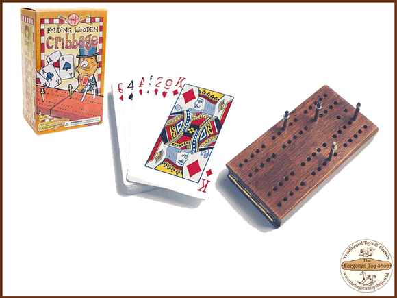 Folding Cribbage Set House of Marbles - The Forgotten Toy Shop Limited