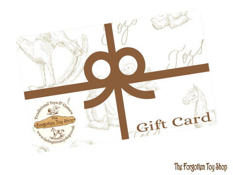 Gift Card The Forgotten Toy Shop - The Forgotten Toy Shop Limited