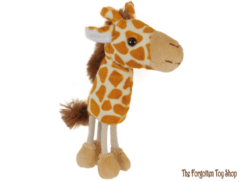Giraffe Finger Puppet The Puppet Company - The Forgotten Toy Shop Limited