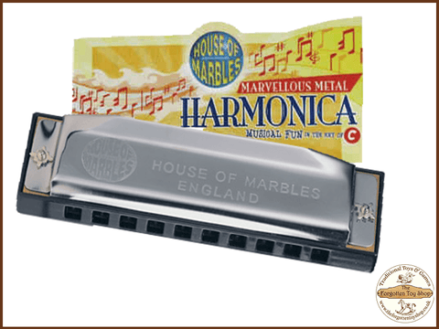 Harmonica House of Marbles - The Forgotten Toy Shop Limited