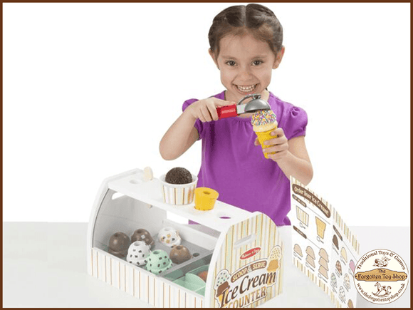 Scoop & Serve Ice Cream Counter Melissa & Doug - The Forgotten Toy Shop Limited