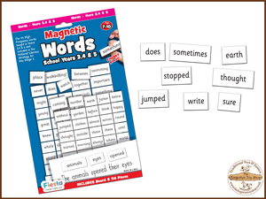 Magnetic Words - School Years 3, 4 and 5