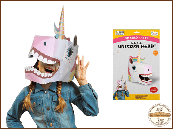 Make a 3D Full-Head Mask - Unicorn