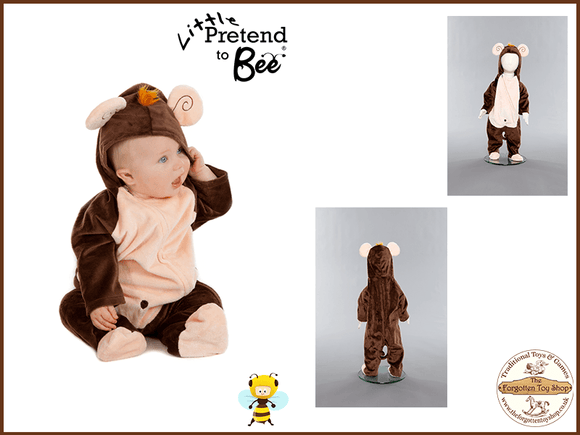 Baby Monkey all in one Costume Pretend to Bee - The Forgotten Toy Shop Limited
