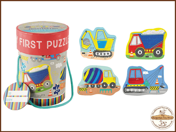 My First Puzzles - Construction Floss & Rock - The Forgotten Toy Shop Limited