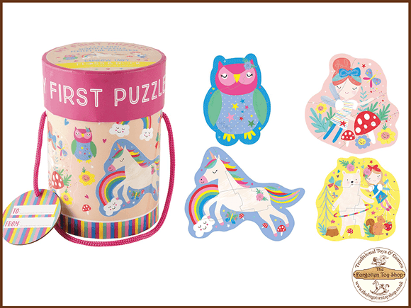 My First Puzzles - Rainbow Fairy Floss & Rock - The Forgotten Toy Shop Limited
