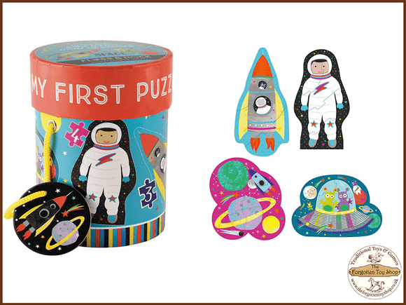 My First Puzzles - Space Floss & Rock - The Forgotten Toy Shop Limited