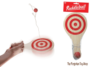 Wooden Paddleball Tobar - The Forgotten Toy Shop Limited