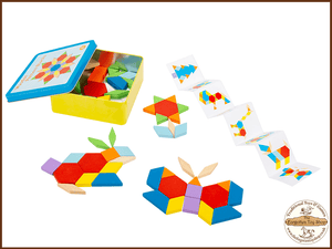 Tangram Puzzle Game Legler - The Forgotten Toy Shop Limited