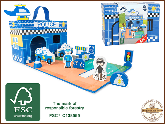 Police Station Theme play set
