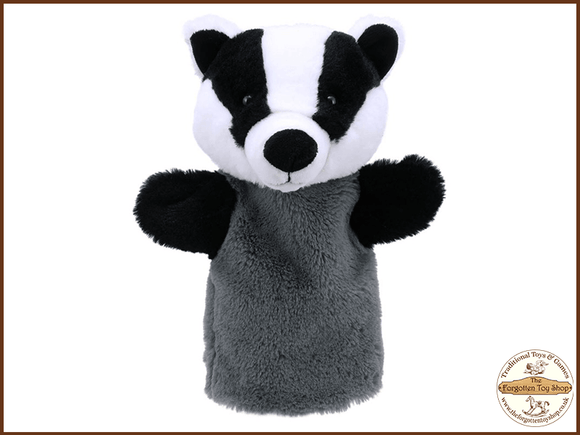 Badger Puppet Buddies Hand Puppet