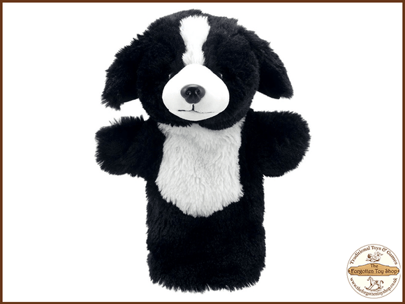Border Collie Dog Puppet Buddies Hand Puppet