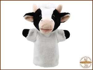 Cow Puppet Buddies Hand Puppet The Puppet Company - The Forgotten Toy Shop Limited
