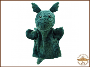Green Dragon Puppet Buddies Hand Puppet The Puppet Company - The Forgotten Toy Shop Limited