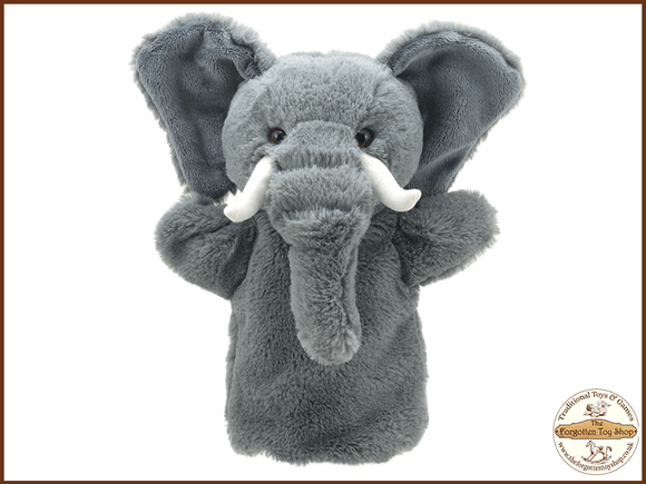 Elephant Puppet Buddies Hand Puppet The Puppet Company - The Forgotten Toy Shop Limited