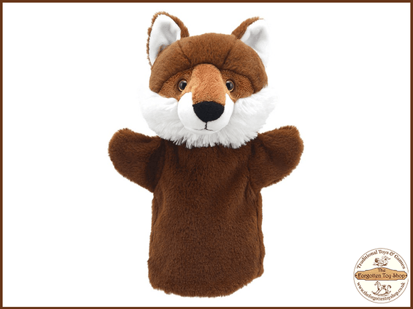 Fox Puppet Buddies Hand Puppet The Puppet Company - The Forgotten Toy Shop Limited