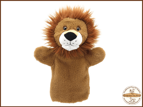 Lion Puppet Buddies Hand Puppet The Puppet Company - The Forgotten Toy Shop Limited