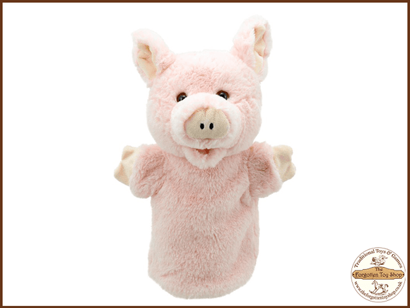 Pig Puppet Buddies Hand Puppet The Puppet Company - The Forgotten Toy Shop Limited