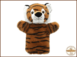 Tiger Puppet Buddies Hand Puppet The Puppet Company - The Forgotten Toy Shop Limited