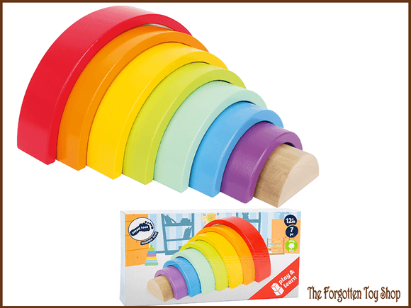 Wooden Stacking Rainbow Legler - The Forgotten Toy Shop Limited