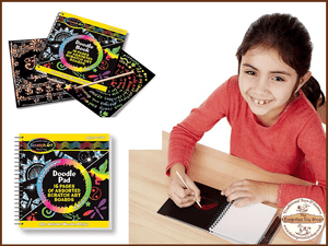 Scratch Art Doodle Pad Melissa & Doug - The Forgotten Toy Shop Limited