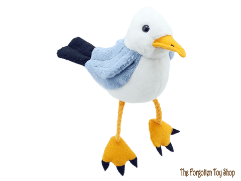 Seagull Finger Puppet The Puppet Company - The Forgotten Toy Shop Limited