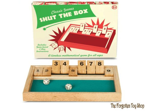 Shut the Box Tobar - The Forgotten Toy Shop Limited