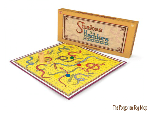 Snakes & Ladders Game Tobar - The Forgotten Toy Shop Limited