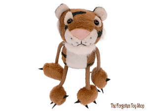 Tiger Finger Puppet The Puppet Company - The Forgotten Toy Shop Limited