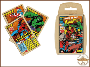 Top Trumps - Marvel Comics Retro Muddleit - The Forgotten Toy Shop Limited