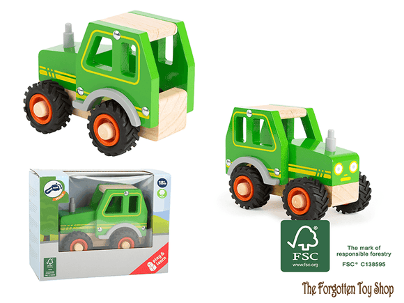 Wooden Tractor Legler - The Forgotten Toy Shop Limited