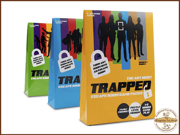 Trapped Escape Room Game Assortment