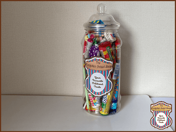 Tuck Shop Favourites Sweet Jar