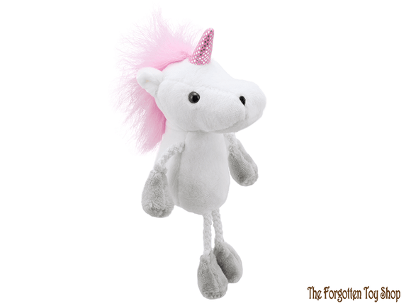 Unicorn Finger Puppet The Puppet Company - The Forgotten Toy Shop Limited