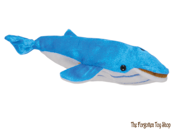 Whale (Blue) Finger Puppet The Puppet Company - The Forgotten Toy Shop Limited