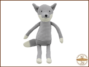 Wilberry Knitted - Fox Wilberry Toys - The Forgotten Toy Shop Limited