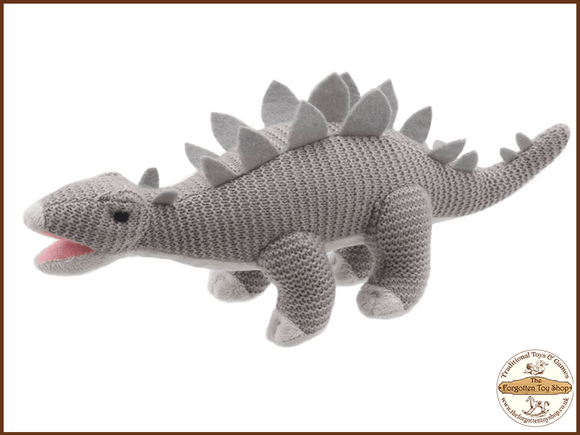 Wilberry Knitted - Stegosaurus
