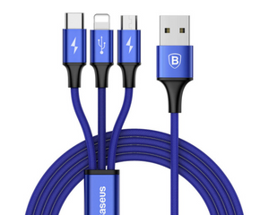 Baseus 3 in 1 USB Cable - Baseus