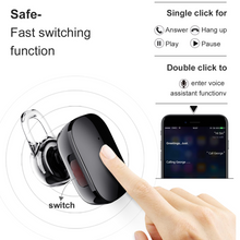 Load image into Gallery viewer, Baseus Mini Bluetooth Earphone Hands-free Wireless Bluetooth Headset Headphone with Mic 4.1 - Baseus