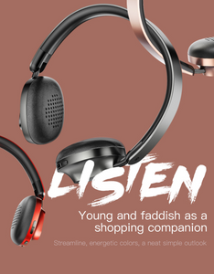 Baseus D01 Bluetooth Wireless Headphones - Baseus
