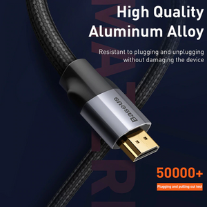 Baseus HDMI Cable 4K 60HZ HDMI to HDMI - Baseus