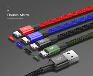 Baseus USB Type C Cable  3 in 1 - Baseus
