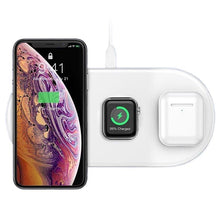 Load image into Gallery viewer, Baseus 3 in 1 Qi Wireless Charger - Baseus