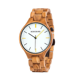 BOBO BIRD Men Wristwatch Fashion Ladies Watch Wood Bracelet Simple Dress Gfit Montre Femme High Quality Anniversary Giftsこうのたろう